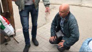 Водій, який відмовив ветерану АТО, вибачався на колінах