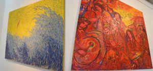 Выставка троих
