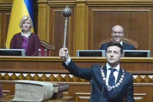 El presidente Zelensky pronunció su primer discurso en Verkhovna Rada