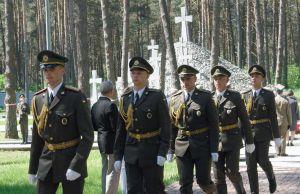 В Быковне почтили память замученных в годы коммунистического террора