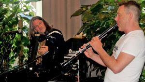 Паризький дует презентував клезмерську музику