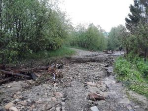 Непогода нанесла убытки самому длинному селу Прикарпатья