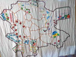 Вишиватимуть мапу Дубровицького району