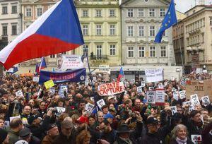В Чехии очередная волна антиправительственных протестов