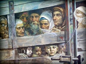 Депортация депортации крымских татар - одно из крупнейших преступлений против человечности