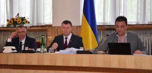 Відбулося перше пленарне засідання 15-ї сесії Закарпатської облради