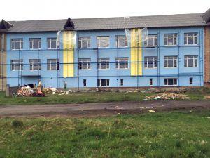 Школу-довгобуд у Космачі оновлюють