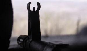 Боевики стреляли из артиллерийской установки