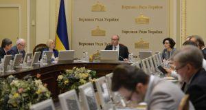 Parubiy mencionó la fecha para considerar la renuncia del Gabinete de Ministros