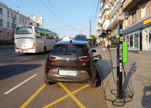 У Вінниці «заправити» електромобіль можна безплатно