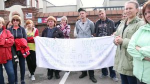 Заробітчани-страйкарі вимагають виплати заробленого