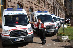 Київські лікарі отримали сучасні «швидкі»