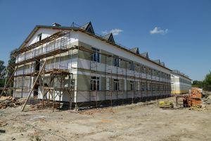 На Волині триває будівництво гуртожитків для контрактників