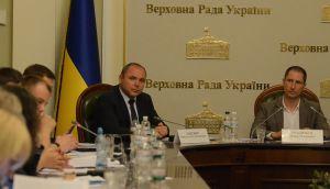 Денис Силантьєв, Микола Даневич під час комітетських слухань