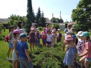 Працівники Ніжинського лісгоспу передають дітям знання про природу