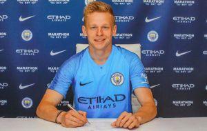 Зінченко в «Манчестер Сіті» до 2024 року