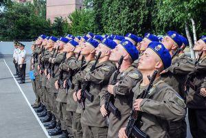 Воїни з молодого поповнення Національної гвардії готові служити сумлінно