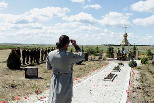 На Карачуні вшанували пам'ять військовослужбовців, які загинули під час Слов'янської операції