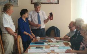 Відбулося засідання президії ВГО Товариства «Знання» України