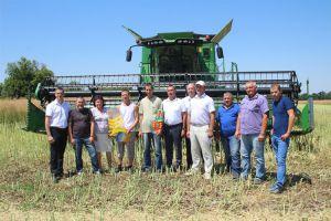 Запорожские аграрии намолотили более 1 млн тонн зерна