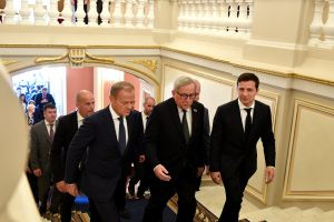 The European Union pledges to continue supporting Ukraine