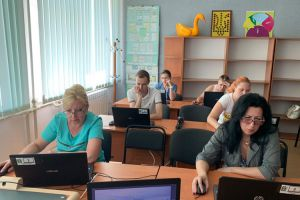 Экзаменовали специалистов ИРЦ Луганской области