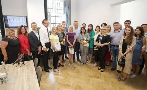 Центр підтримки підприємництва відкрили в Львівській ратуші