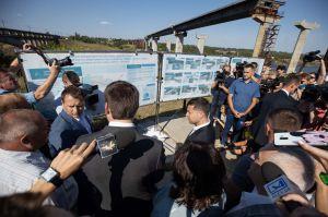 Добудова запорізького мосту через Дніпро має розпочатися у 2020 році