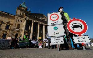 Берлін схвалив  часткову заборону  на рух дизельних авто