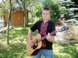 Василь Маркович, автор гітари