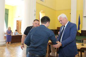 У столиці ветеранам АТО/ООС вручили ключі від квартир