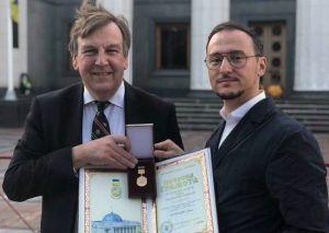Британця нагородили Почесною Грамотою Верховної Ради