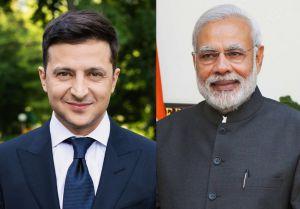 Володимир Зеленський по телефону поспілкувався з прем'єром Індії