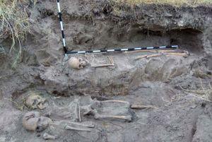 Ужасная находка раскрыла трагедию столетней давности