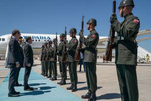 Президент перебуває з візитом у Туреччині