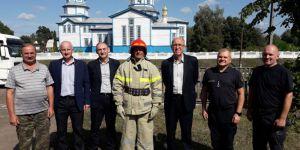 На Чернігівщині поляки навчають наших пожежників