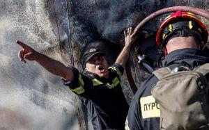 Пожежі знову загрожують Греції