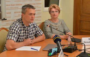 Ігор Луценко, Наталія Новак під час засідання Підкомітету