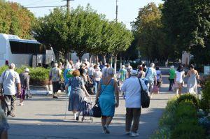 Пенсионеры оздоровляются в «пионерлагере»