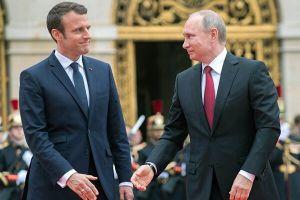 У Макрона и Путина появился оптимизм