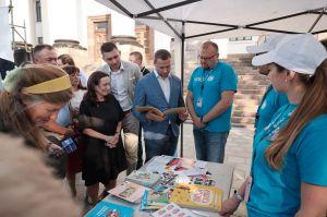 У Краматорську подякували міжнародній спільноті за дієву допомогу