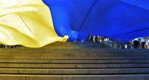 Торжественный марш ветеранов в Одессе