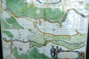 На стародавніх картах — Європейська Сарматія, Земля козаків...