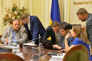 Новообрані депутати тренувалися голосувати і формували порядок денний