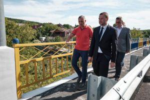 У Богородичному відновили міст через Сіверський Донець
