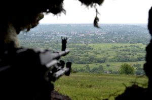 Наши позиции атаковал беспилотник боевиков
