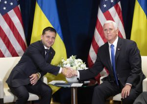 "Trump congratulated Zelensky on ""the very good start of work"""