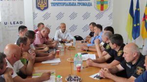 Польські пожежники-добровольці діляться досвідом з українськими колегами
