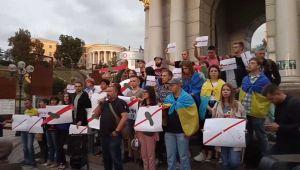 Активисты протестовали против освобождения Цемаха