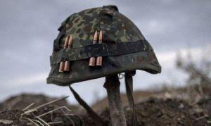 От обстрелов  пострадал военный